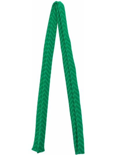 Zielony kostium włókienniczy krawat prostokątny Eres