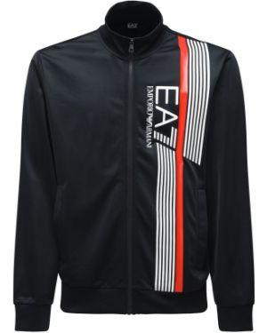 Dres z kieszeniami z logo Ea7 Emporio Armani