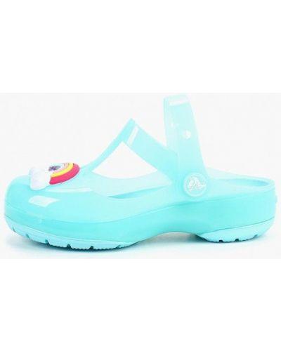Сабо голубой Crocs