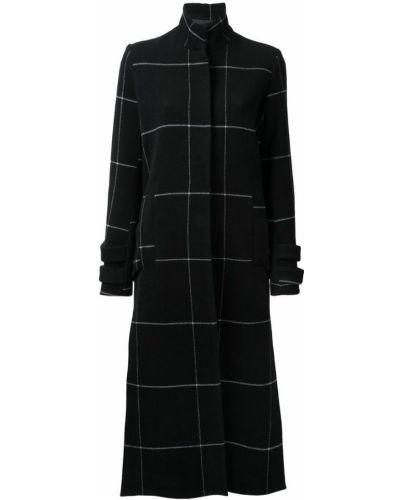 Черное пальто с капюшоном Manning Cartell