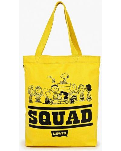 Текстильная сумка - желтая Levi's®