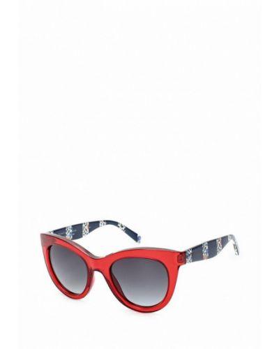 Красные солнцезащитные очки Tommy Hilfiger