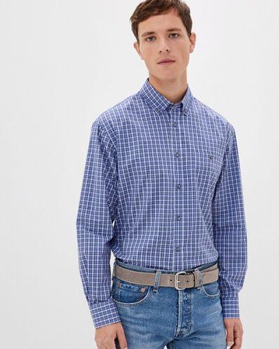 Синяя с рукавами рубашка Btc
