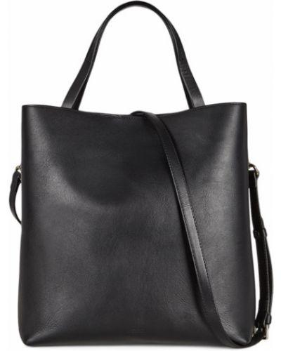Кожаная сумка - черная Ecco