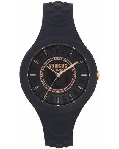 Zegarek kwarcowy okrągły czarny Versus Versace