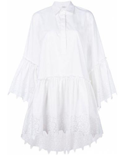 Платье платье-рубашка с перфорацией P.a.r.o.s.h.