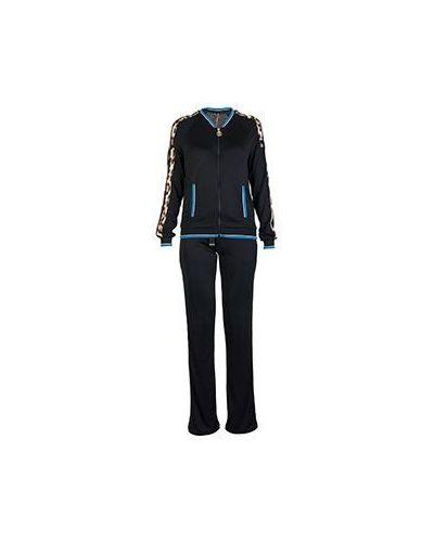 Черный спортивный костюм Roberto Cavalli