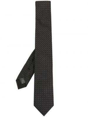 Облегченная шелковая черная резинка для волос Dolce & Gabbana