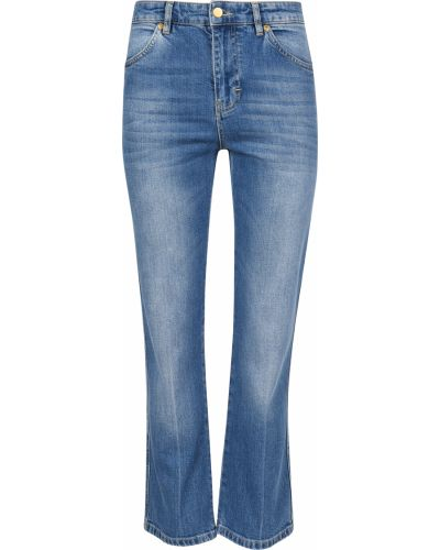 Хлопковые джинсы - голубые Victoria Beckham