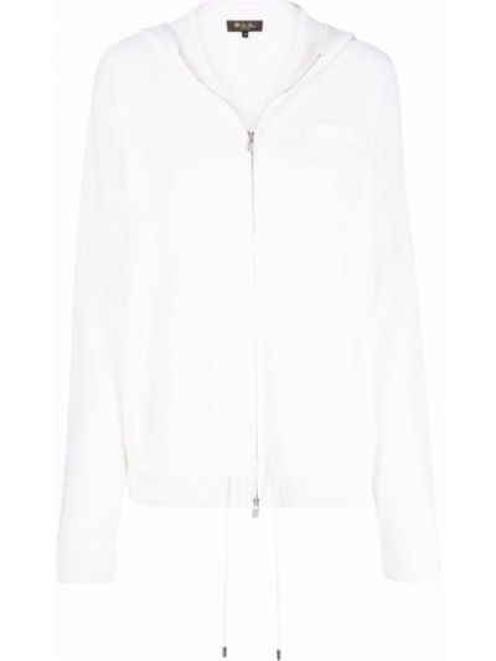 Biała bluza bawełniana Loro Piana