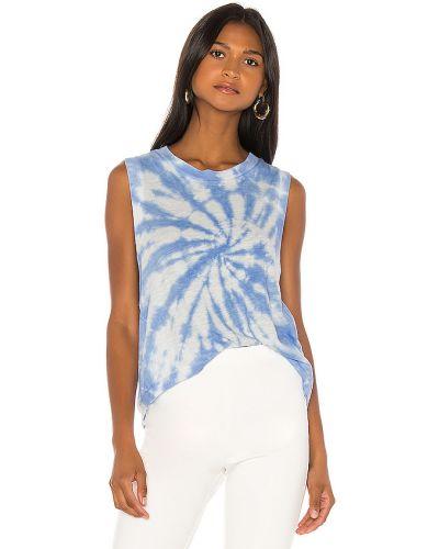 Bawełna włókienniczy niebieski top bezpłatne cięcie Free People