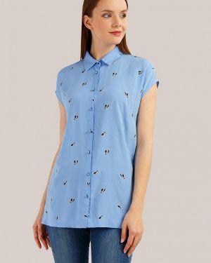 Блузка с коротким рукавом с расклешенными рукавами весенний Finn Flare