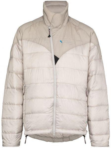 Пуховая куртка - серая Klättermusen