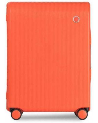Walizka kabinowa materiałowa - pomarańczowa Echolac