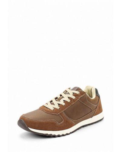 Коричневые кроссовки замшевые Zenden Active