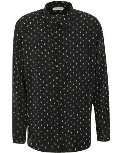 Czarna koszula na co dzień Saint Laurent