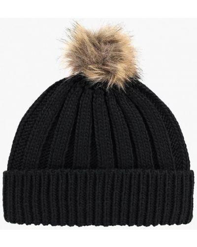 Черная шапка осенняя Jennyfer