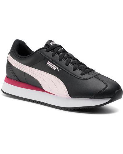 Czarne sneakersy kaskadowe Puma
