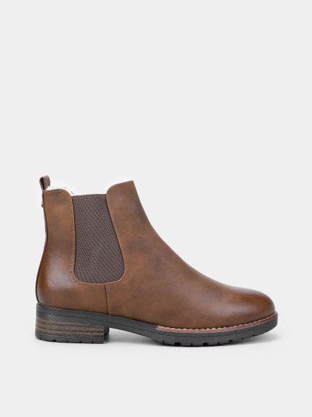 Кожаные ботинки - коричневые M Wone