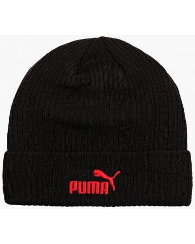 Шапка - черная Puma