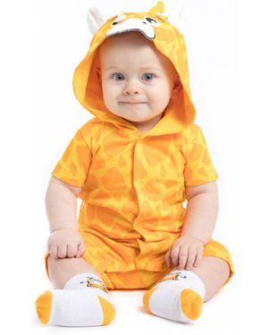 Комбинезон с капюшоном на кнопках Playtoday Newborn