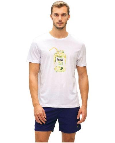 Biały t-shirt F**k