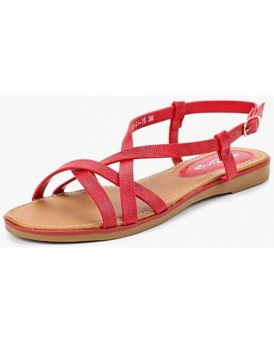 Красные сандалии Amazonga