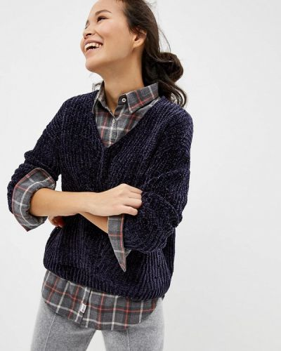 Синий пуловер Noisy May