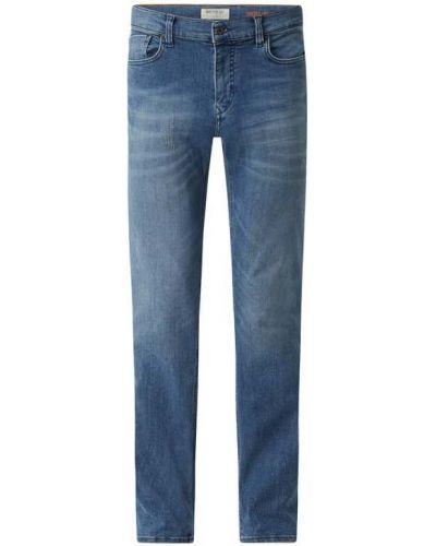 Niebieskie mom jeans bawełniane Mcneal