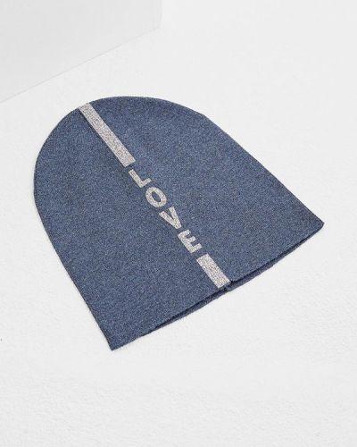 Синяя шапка осенняя Furla