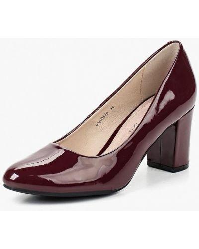 Туфли на каблуке кожаные осенние T.taccardi