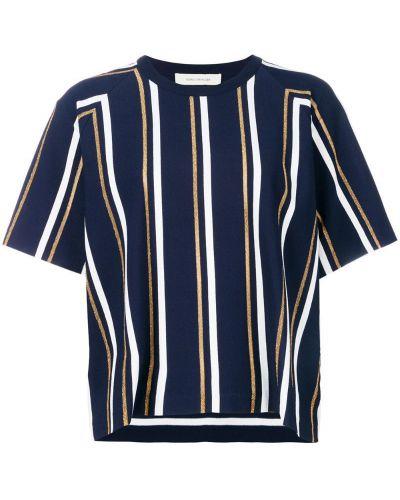 Синяя рубашка в полоску Cédric Charlier