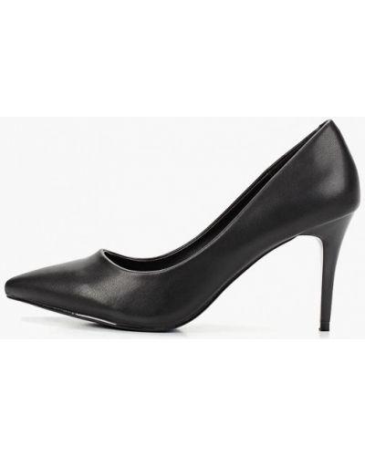 Туфли-лодочки кожаные на каблуке Damerose