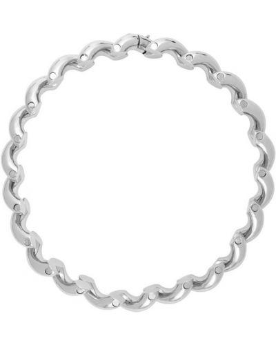 Ожерелье серебряный Balenciaga
