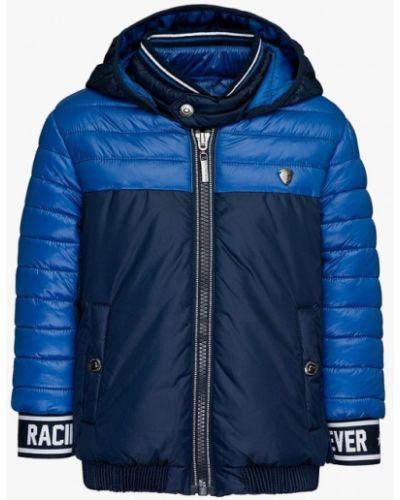 Куртка теплая синий Gulliver
