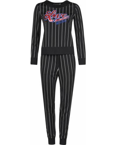 Спортивный костюм черный Love Moschino