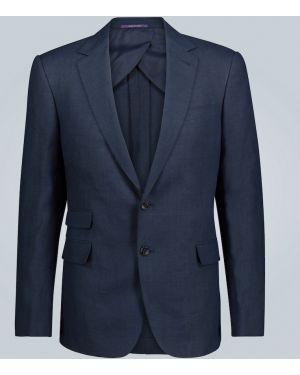 Сиреневый однобортный пиджак Ralph Lauren Purple Label