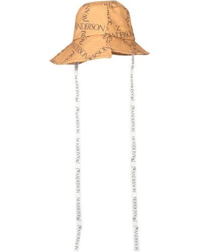 Pomarańczowa bucket hat Jw Anderson