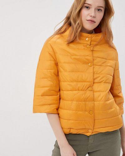 Оранжевая утепленная куртка Z-design