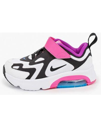 Белые текстильные кроссовки Nike
