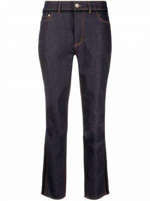 Niebieskie klasyczne jeansy Erdem