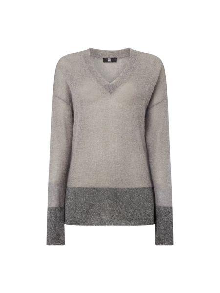 Sweter moherowy z dekoltem w serek Riani