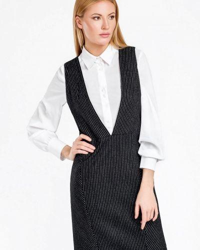 Платье осеннее черное Swank