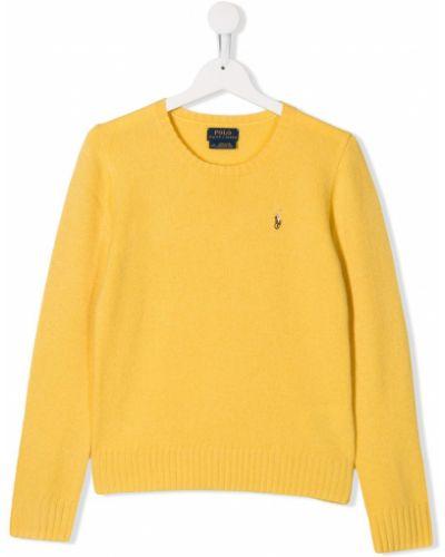 Желтый свитер Ralph Lauren Kids