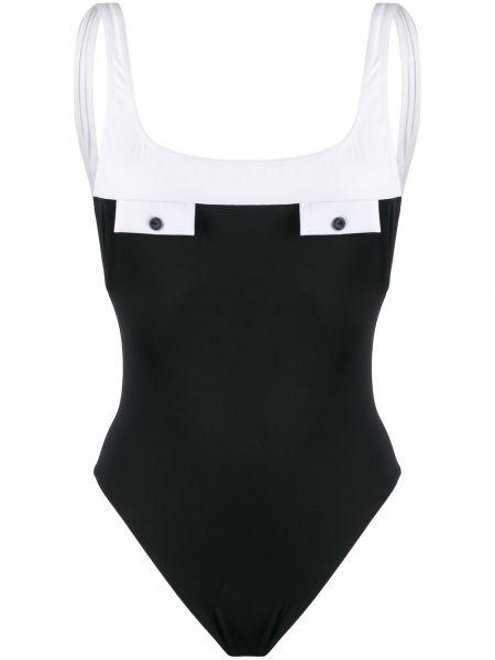 Плюшевый слитный купальник с разрезом Sian Swimwear