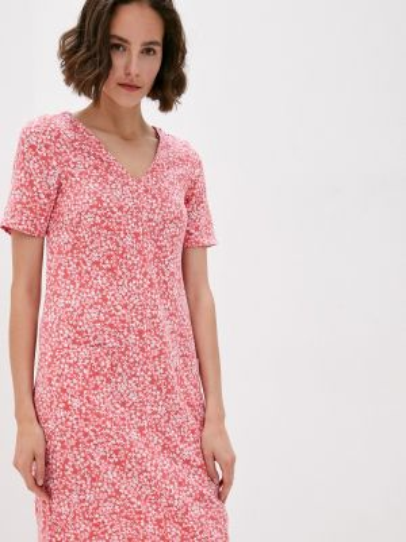 Повседневное платье розовое весеннее Marks & Spencer