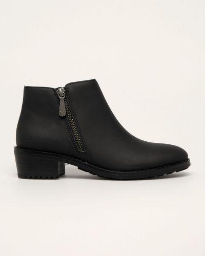 Ботинки на каблуке черные Emu Australia