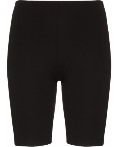 Черные спортивные шорты Paco Rabanne