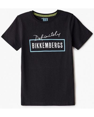 Черная футболка с короткими рукавами Bikkembergs