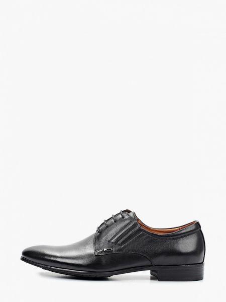 Кожаные черные туфли Rossini Roberto